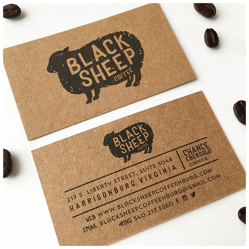 thick rich light brown kraft paper has natural fibers and subtle visible flecks to give kraft cards an organic look and feel the stock is 100 recycled - Kraft Paper Business Cards
